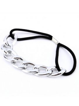 2 Pcs Chain Link Ponytail Holder