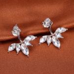 Chic Crystal Stud Earrings