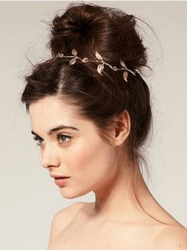 Elegant Leaf Hair Accessories