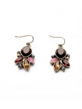 Flower Earrings Vintage Inspired Design