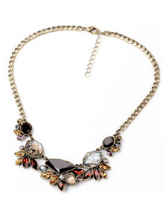 Flower Necklace Vintage Inspired Design