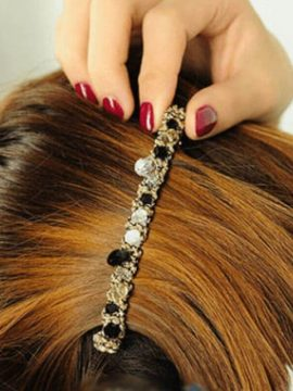 Hair Accessories Crystal Rhinestone Grips 1