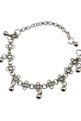 Sexy Floral Dangle Anklet Jewelry