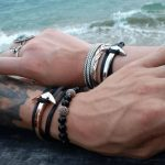 Anchor Bracelet Wrap Multilayer Design