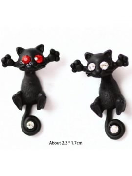 Cat Stud Earrings Unique Special Design