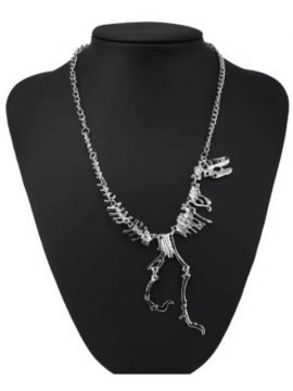 Dinosaur Necklace Fossil Pendant Jewelry