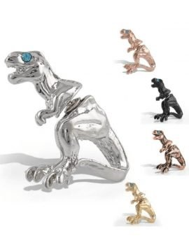 Dinosaur Stud Earrings Unique Design