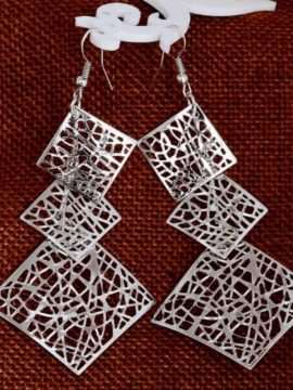 Hollow Out Earrings Geometrical Design 1