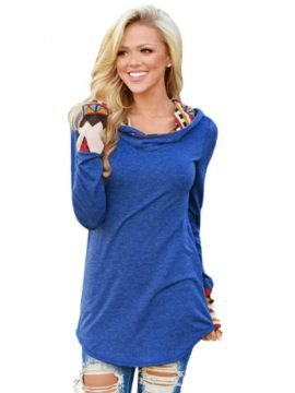 Hooded Sweatshirt Long Sleeve Loose Top