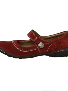 Hush Puppies Shoes Gyneth Suede Mary Jane