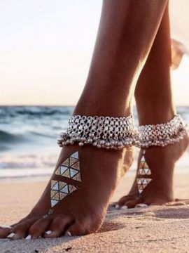 Jingle Bell Anklet Exotic Belly Dance Jewelry