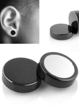 Magnetic Earrings Stainless Steel Non Pierced