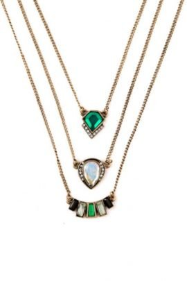 Multi Layer Necklace Vintage Inspired