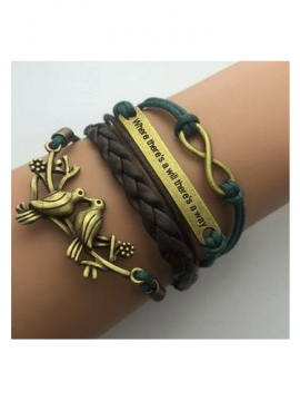 Multilayer Leather Bracelets Wrap Design