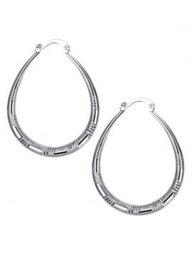 Small Hoop Earrings 925 Metal Stamp