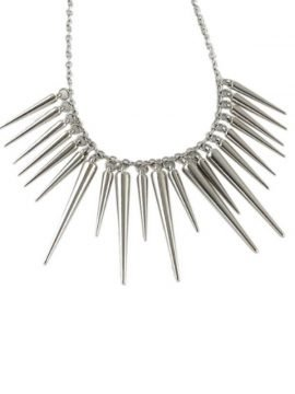 Spike Necklace Cute Fringe Design