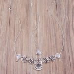 Chain Headband Bohemian Silver Plated