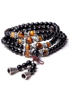 Meditation Mala 108 Beads Bracelet Necklace
