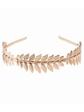 Metal Leaf Headband Pretty Hair Jewelry