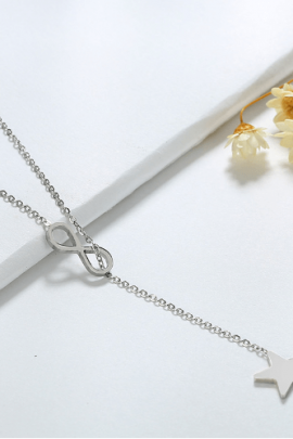 Infinity Necklace Stainless Steel Pendant