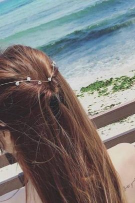 Hair Decoration Cute Accented Crystals