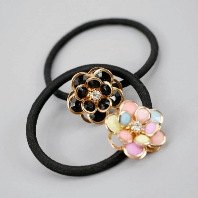 Flower Ponytail Holder Hair Accessories