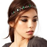 Rhinestone Stretch Headband Romantic Style