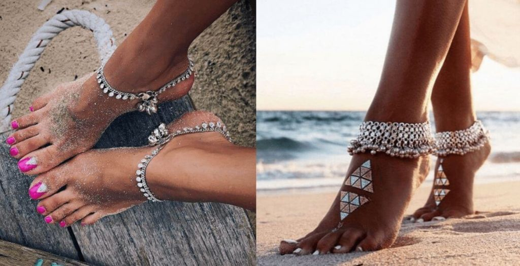 Why Anklets Are Back In Fashion