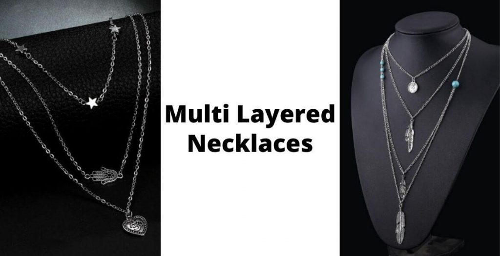 multi layered necklaces