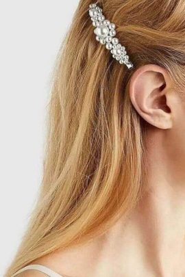 Pearl Hair Clip Jewelry