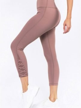 Mesh Ankle Workout Leggings 4